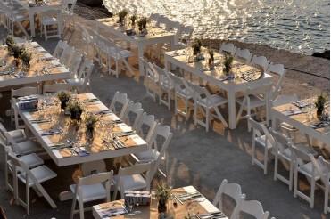 Wedding Reception In Aegina