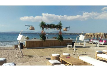 Beach Party In Spetses