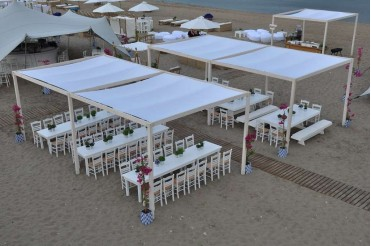 Beach Party In Rhodes